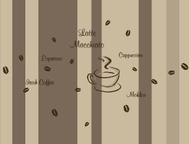 Die Kaffee Tapete für Genießer | style-your-castle.de